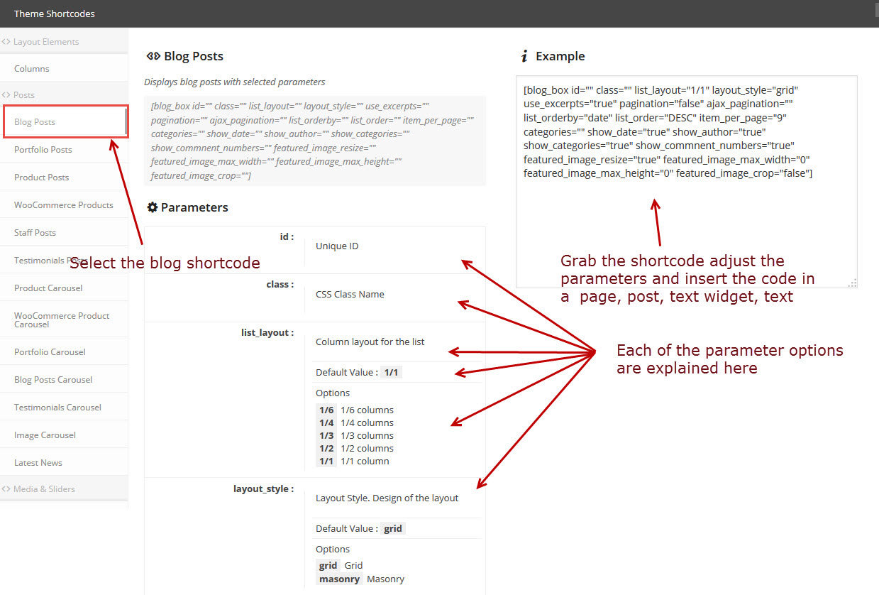 blog-listshortcode